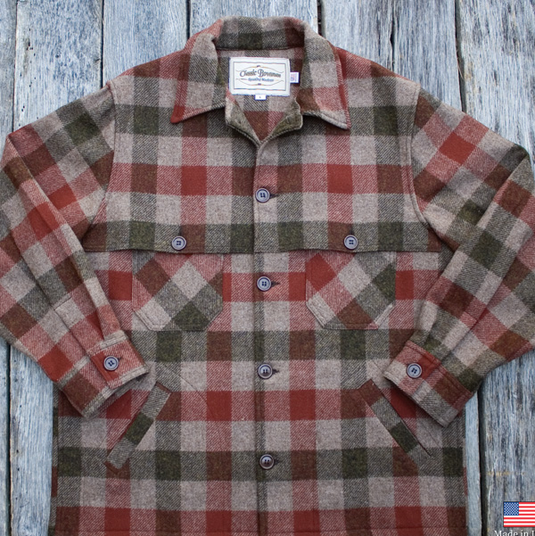 Bow Hunting Jackets|Wool Plaid Jackets
