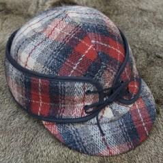 Red Highland Plaid Bowman Brim